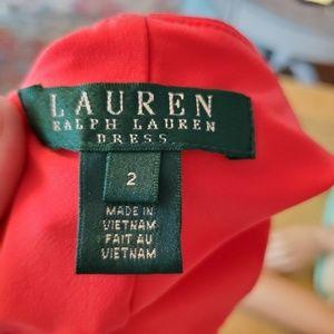 Ralph Lauren Dresses - Ralph Lauren green label coral scoop neck dress